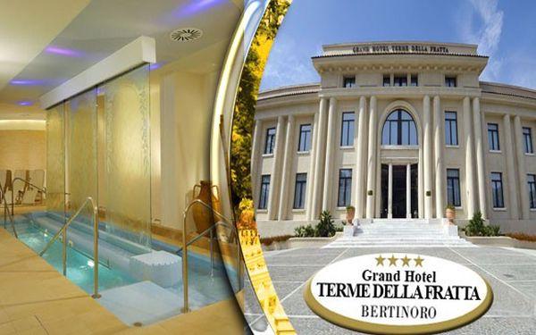 6 denní pobyt v Grandhotelu Therme di Fratta – Itálie + snídaně, denní vstup do wellness a fitness.