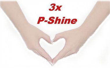 Hned 3x ošetření vašich přírodních nehtů velmi oblíbenou a výživnou japonskou metodou p-shine pro krásné ruce!
