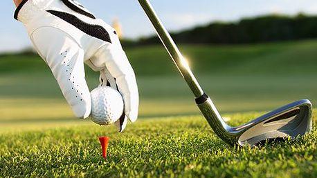 6hodinový kurz golfu! Zahrajte si s profesionálním tenérem a naučte se o golfu vše od A do Z!