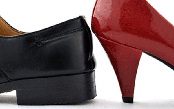 Sleva 55% na opravu obuvi! Jen 70 Kč (cena je za pár) za opravu patníků na podpatcích v centru Prahy. Platí pro všechny dámské a pánské patníky (podpatky)!