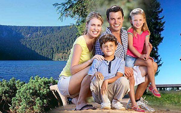 3 nebo 6 dní v Železné Rudě pro DVA. Polopenze, grilování i láhev vína v penzionu Alpský Dům. Objevte Čertovo jezero i jiné krásy Šumavy.
