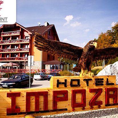 Víkend v luxusním hotelu ve Valčianské dolině nedaleko slovenských hranic!