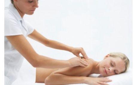 299 Kč za 60minutovou relaxační masáž zad, šíje a nohou zezadu i zepředu