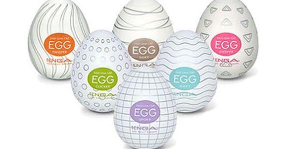 Jedinečná nabídka určená především pro pány! Skvělý erotický pomocník Tenga Egg za sexy cenu 99 Kč! Dámy neváhejte a překvapte svého partnera tímto dárkem!