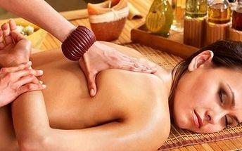 Exotická thajská masáž (55 minut). Relaxační technika vás zbaví napětí, bolesti i stresu. Poznáte na vlastní kůži blahodárný vliv.