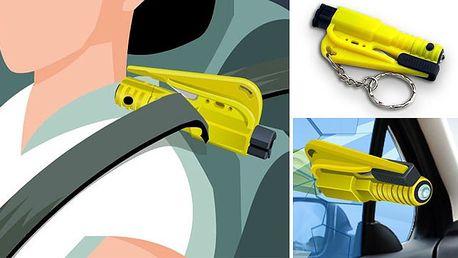 Pouhých 119 Kč za záchrannou bezpečností sadu do auta Bodyguard! Obsahuje 3 účinné nástroje, které Vám mohou při autonehodě zachránit život!