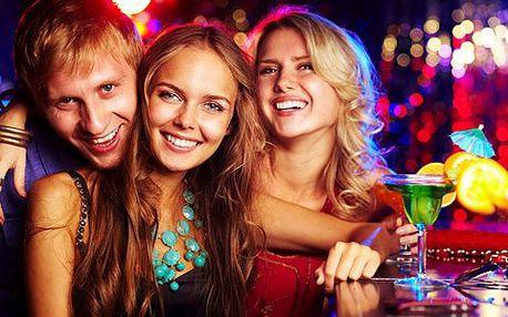 VELKÁ PARTY! Šest drinků chupito v showbaru LaMAFIA. Vezměte partu přátel a pojďte se bavit do baru ve stylu legendárního Komtra!