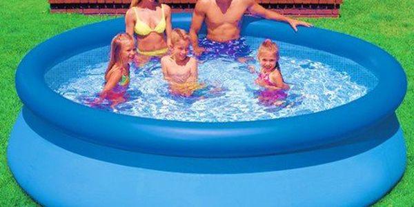 3metrový bazén na zahradu! Trojnásobně tvrzený laminát pro bezpečí celé vaší rodiny. Snadno se staví!