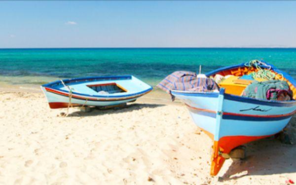 Hammamet, dovolená v arabském stylu, letecky, 8 dní s polopenzí - hotel Fourati***