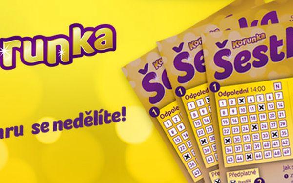 7 nebo 14 šancí vyhrát 5 milionů s Korunkou!