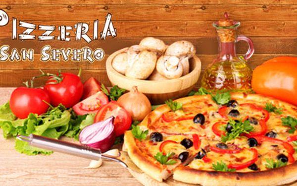 59 Kč za báječnou pizzu o průměru 33cm dle vašeho výběru v Pizzerii San Severo: 29 druhů, tenké křupavoučké těsto, původní italské recepty a ty nejlepší ingredience.