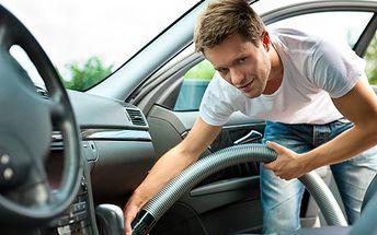 Ruční čistění interiéru vozu! Základní nebo kompletní čištění vozu v profesionálním autoservisu!