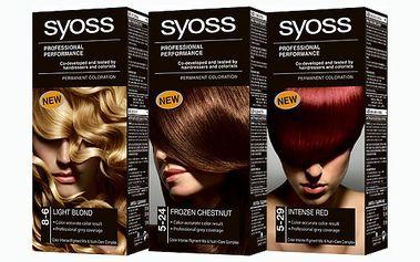 Léto již klepe na dveře, dopřejte si novou barvu vlasů s barvami Syoss za neuvěřitelnou cenu 89 Kč!!