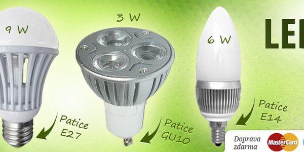 Špičkové moderní LED žárovky do bytu i kanceláří. Různé tvary a patice. Ušetří vám až 90 % energie.