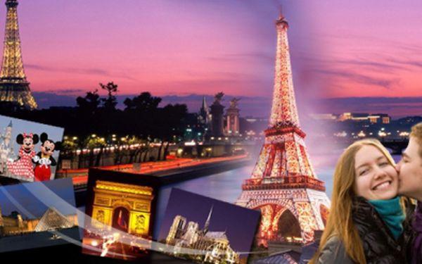 Romantický 6-denní zájezd do PAŘÍŽE s hotelovým ubytováním, snídaněmi a dopravou jen za 4790 Kč! Eiffelovka, Moulin Rouge, Disneyland či plavba lodí po řece Seina! Užijte si francouzskou metropoli naplno. Ušetříte 40%!