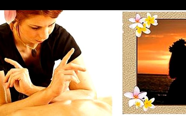 49 Kč za SLEVOVÝ POUKAZ s okamžitou slevou 50% na 60 min. luxusní havajskou masáž Lomi Lomi. Nechte se hýčkat a zrelaxujte tělo i duši nyní za pouhých 300 Kč.