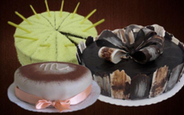 229 Kč místo 380 Kč - Den maminek se blíží! Skvělý marcipánový, čokoládový nebo kokosový dort se sladkou slevou 40 %. Osobní odběr, různé náplně a korpusy!