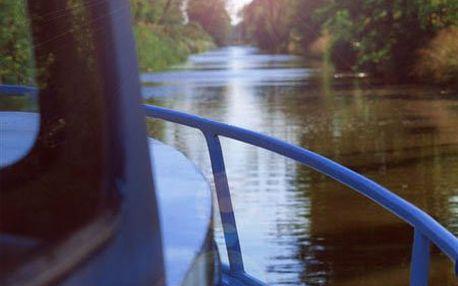 Vypravte se na dobrodružnou plavbu po Baťově kanálu s odborným výkladem a prohlídkou Výklopníku v Sudoměřicích za 100 Kč