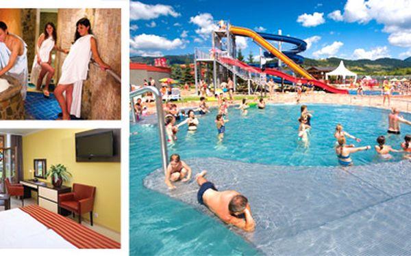 Víkendový relax na Slovensku v hotelu Bešeňová, H688**** se skvělou slevou 41%! V ceně NEOMEZENÝ vstup do Aquaparku s možností přerušení vstupu! Dopřejte si romantiku s drahou polovičkou nebo jen relax s přáteli!