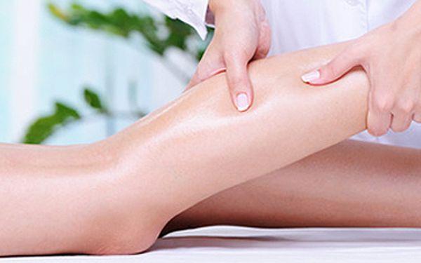 Lymfatická masáž dolních končetin (permanentka 3x45 min.). Jako prevence proti celulitidě, ke zvýšení imunity a detoxikaci organismu