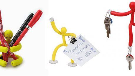169 Kč za kreativní hračku a pomocníka v jednom. Silikonový Kinky ve 4 barevných variantách.