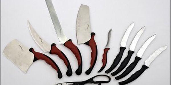 Jedinečná sada kvalitních nožů CONTUR PRO! Díky nové technologii, ledem a olejem kalené ostří dosahuje té nejvyšší kvality a bude Vaším dobrým pomocníkem v kuchyni.