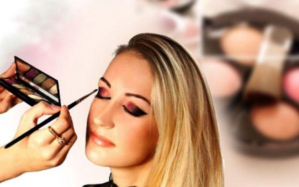 Každá žena se chce líbit. My Vás to nyní naučíme se slevou 81%! Studio Beauty Paradise nabízí 2 hodinový kurz líčení v hodnotě 800Kč jen za 149Kč!