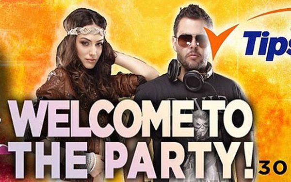 Vstupenky na velkolepou akci WELCOME TO THE PARTY! Světoví i čeští DJ's na otevírací párty letošního léta!