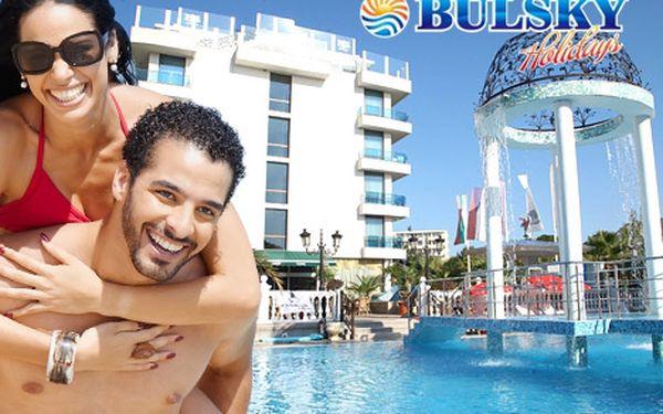 ALL INCLUSIVE **** 8 denní dovolená letecky do Bulharska pro jednu osobu jen za 11499 Kč. Lusuxní dovolená v jižním Bulharsku na písčitých plážích s neuvěřitelnou 28% slevou.