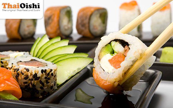 Milovníci SUSHI zbystřete! 31 kusů vynikajícího čerstvého sushi jen pro Vás!