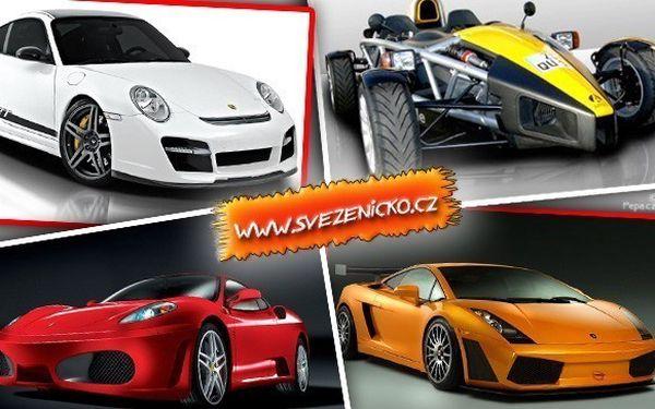 Ferrari, Porsche, Chevrolet a Ariel Atom na 30 minut anebo 15 minut v Lamborghini