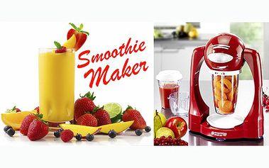 799 Kč za unikátní a jedinečný SMOOTHIE MAKER je ideální na přípravu lahodných krémových přírodních nápojů, našlehanou ledovou kávu, koktejly či zmrzlinu! Připravíte nápoje z čerstvého ovoce plné vitamínů!