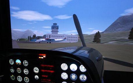 699 Kč za 35 minut letu na leteckém trenažéru na letišti v Praze! Toužíte po zajímavém zážitku? Chcete si vyzkoušet co obnáší práce pilota? U nás si můžete zkusit akrobacii s letadlem, let v hustém dešti, přistání na lodi, let s navigací a plno dalších situací! Jedinečný zážitek, adrenalin a zábava pro všechny nadšence létání! Vybavení trenažéru pochází z opravdového letada, vyzkoušejte si létání na simulátoru akrobatického letadla Zlín Z242l!