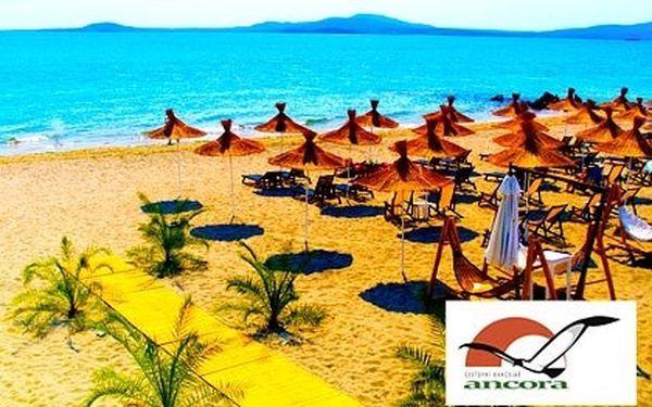 All inclusive Bulharsko na 7 nocí v 4* hotelu pro 1 osobu – neomezeně využíváte venkovní bazén a venkovní vířivku, tam busem, zpátky letecky