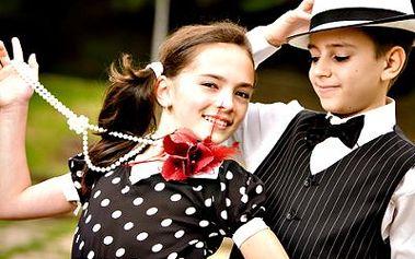 Taneční příměstský tábor pro děti od 5 let. Latino tance, zoo a více! Vše pod odborným vedením.