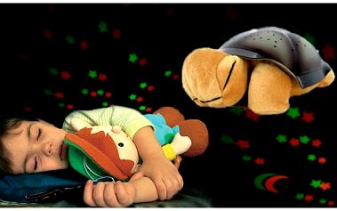 Svítící magická želva za 237 Kč! Tato magická želvička promění každý večer Váš pokoj i ložnici či jinou místnost v kouzelný ráj s nebem posetým hvězdami.