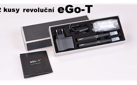Vysoká dýmavost, vysoká kapacita cartridge, opravdový požitek ze zdravého kouření to je ego-t! 2 kusy s poštovným v ceně!