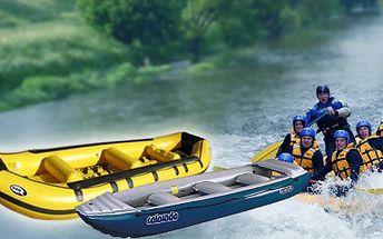 Chystáte se na tu správnou vodu? Chcete si užít víkend na raftech? Půjčíme Vám raft pro 6 osob včetně pádel a vest na jeden den za 459 Kč!