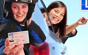 ŘIDIČSKÝ KURZ na osobní AUTO skupiny B + na MOTOCYKL do 25kW Staňte se řidičem nejen automobilu, ale i motocyklu a získejte řidičské oprávnění skupin B a A18. Profesionální přístup a učební materiály v ceně jsou samozřejmostí.