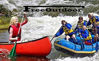 Zapůjčení kánoe Vydra, Pálava či 6místného raftu Colorado na celý den. Včetně pádel, plovacích vest a přileb. Sjíždějte jakoukoliv řeku se slevou 52 %.