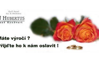 Lázeňský romantický wellness pobyt plný pohody v hotelu hubertus v lázních kynžvart pro dva s polopenzí!
