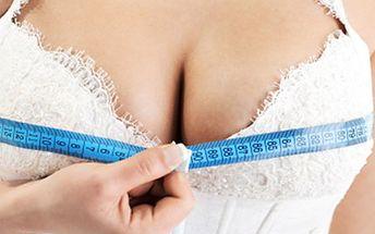 ZPEVNĚNÍ POPRSÍ bez plastické operace: 2x25 minut Zpevněte svá prsa bez nutnosti plastické operace - přístrojem Body Fix. Díky podtlakové masáži dochází k vyzvednutí prsou až o 4 cm. Délka procedury 25 minut.