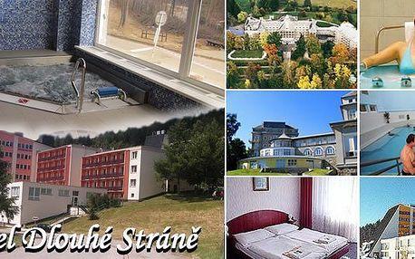 Ubytování pro dvě osoby na 2 noci s polopenzí v hotelu Dlouhé stráně v Jeseníkách! Užijte si pobyt s nádhernými výlety do okolí.