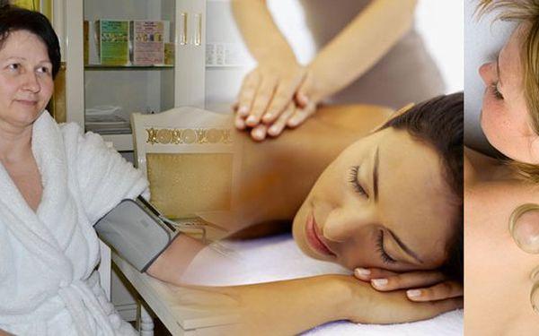 Lázně Jupiter: Čekají Vásdvě hodiny relaxu a odpočinku.Vstupní vyšetření, římská parní lázeň, ruční lymfatická masáž a baňková lymfatická podtlaková masáž.