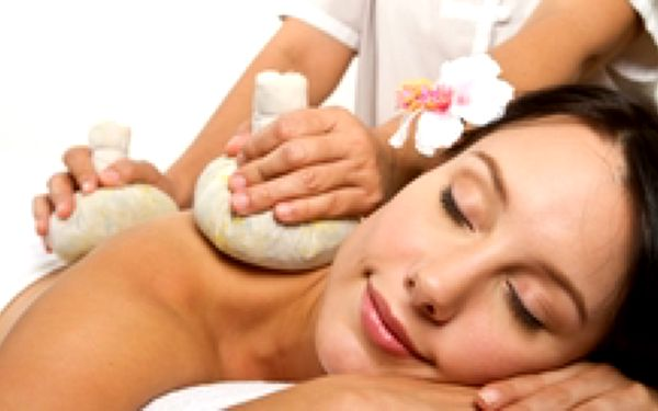199 Kč místo 850 Kč - 60 minut luxusní masáže dle vlastního výběru. Thajská masáž bylinnými měšci, masáž s bahenními zábaly, lymfatická anticelulitidní masáž a další, se slevou 77 %
