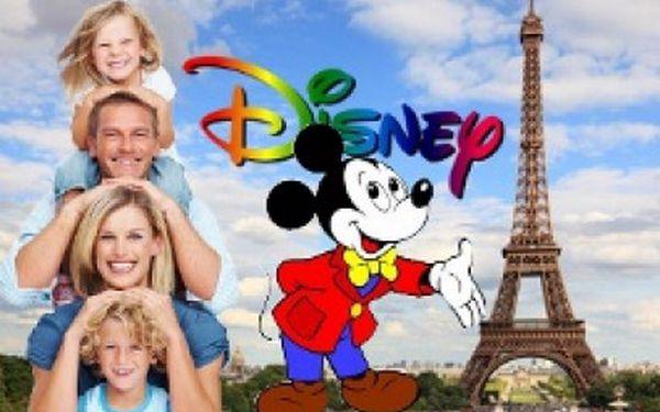 4denní zájezd do Disneylandu v Paříži jen za 2980 Kč! Super zážitek pro děti i dospělé!
