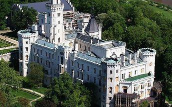 3denní romantický pobyt v hotelu Podhrad**** v Hluboké nad Vltavou