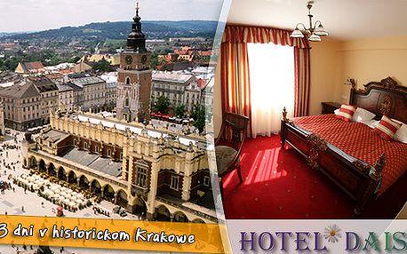 Ešte lepšia cena! Len 34€ za 3 dňový relax v Hoteli Daisy Superior*** v Krakowe. Bazén, sauna, biliard, vstup do fitness centra. Ubytovanie v izbách Standard aj Superior a množstvo zliav navyše.