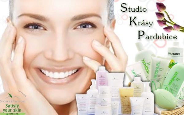 Kosmetické ošetření pleti 8v1s kosmetikou NouriFusion.
