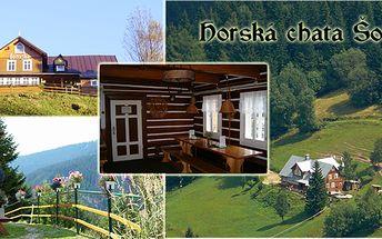 3 - denní pobyt pro dva v historické horské chatě Šohajka v Krkonoších s nádherným výhledem!